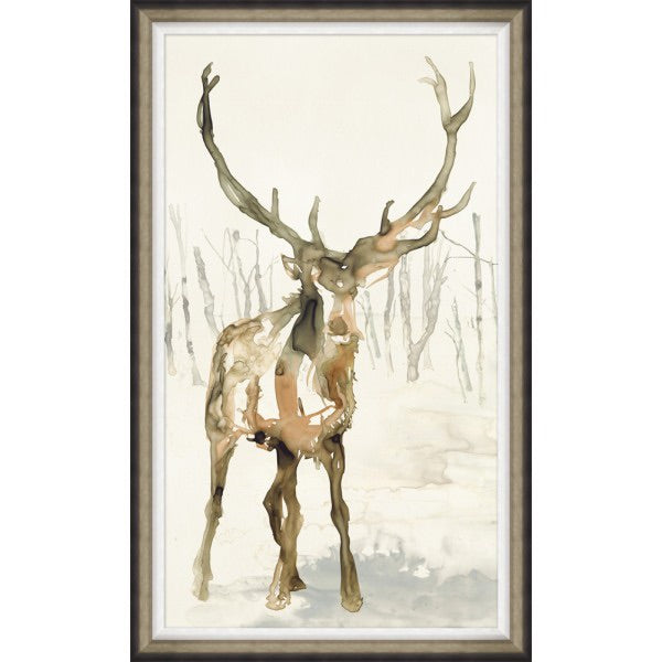 Silent Wonder - Deer Watercolor