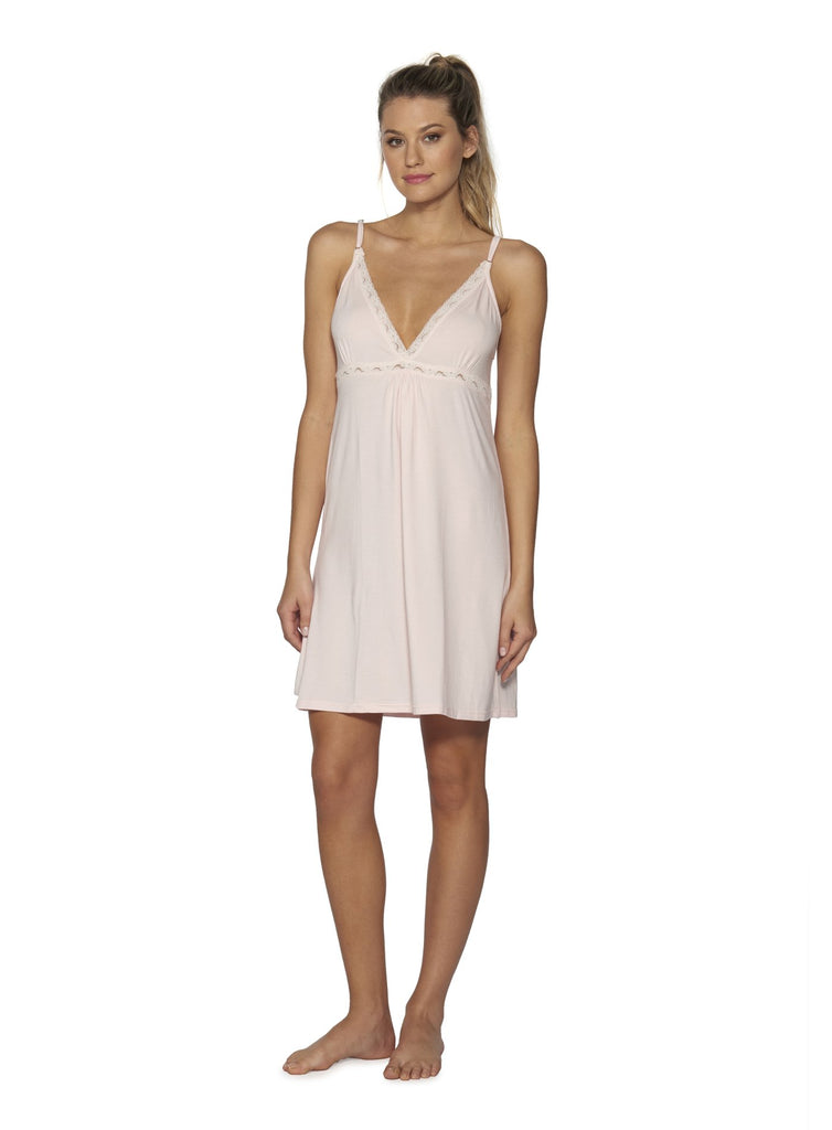 Luxe Classic Chemise Tank