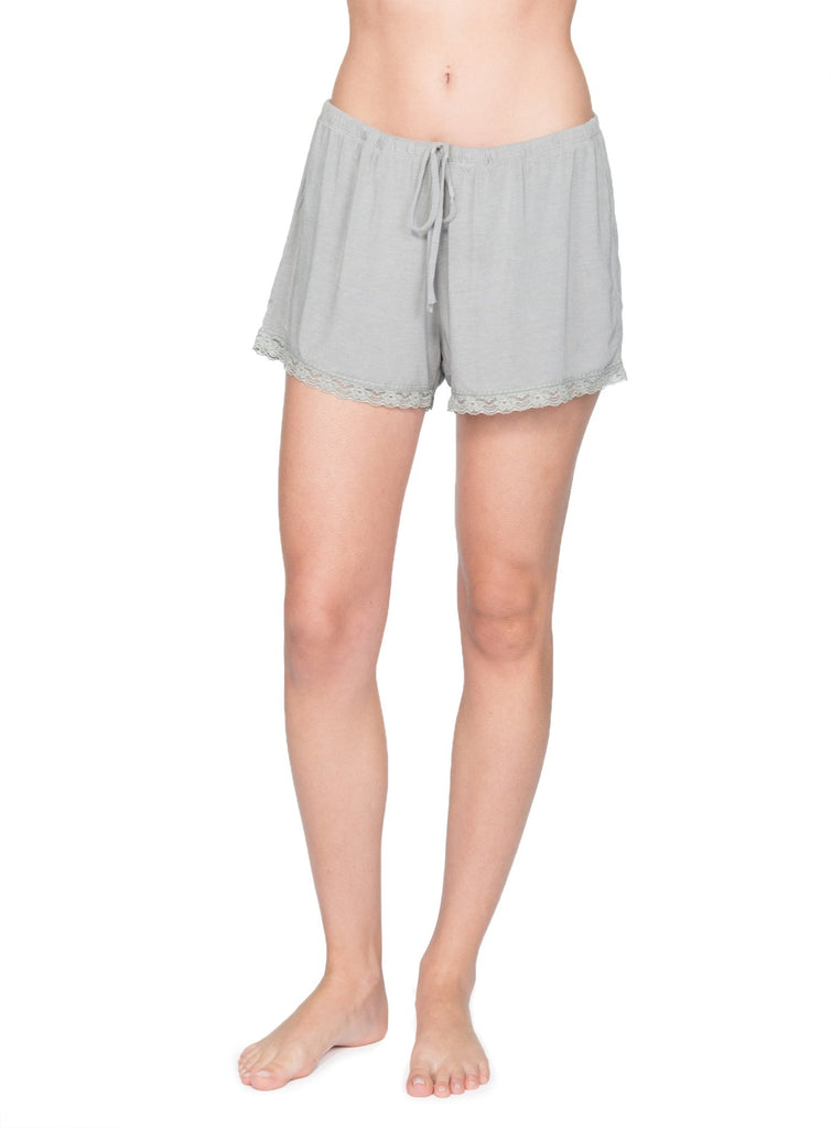 Luxe Lace Pajama Shorts