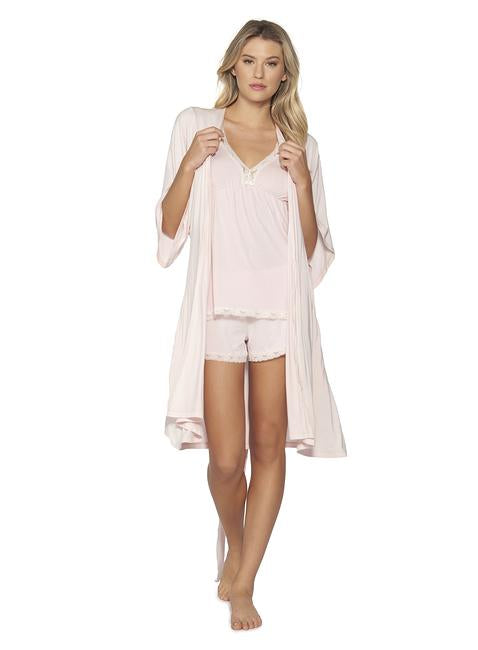 Luxe Classic Short Robe