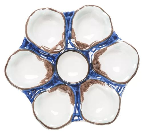 Oyster Plate- Four Color Options