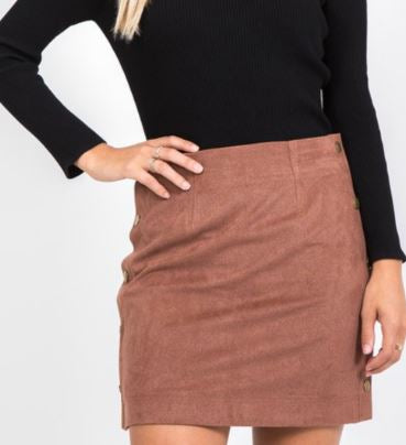 Bethany Button Down Skirt