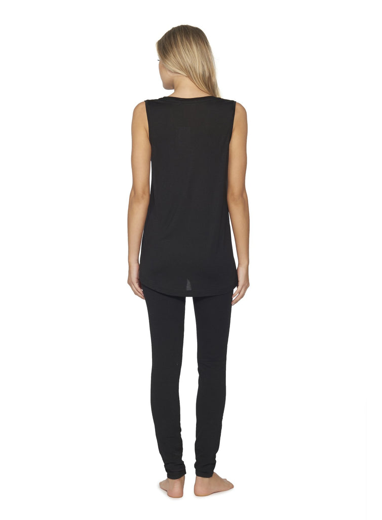 Modal Sleeveless V-Neck