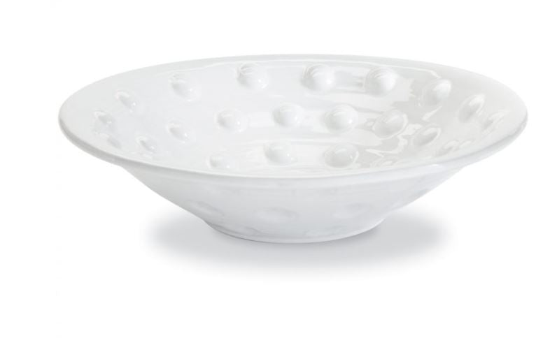 Raised Dotted Centerpiece Bowl