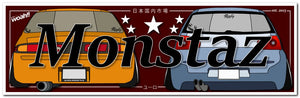 Golf + S14 Zenki Monstaz - Paper Sticker