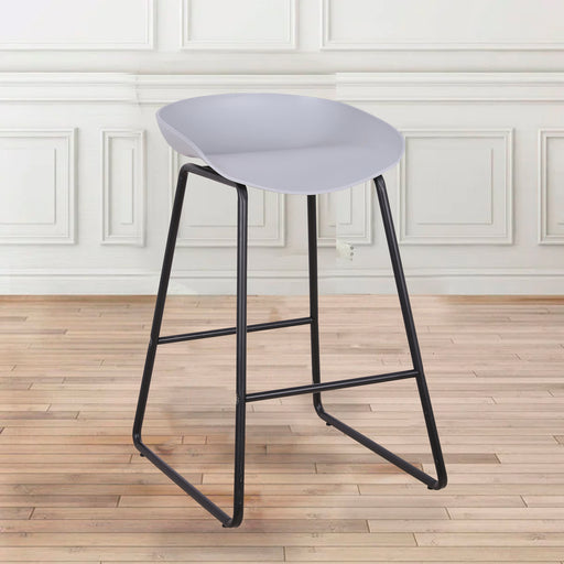 "Simon ABS Counter Stool 26"" (Grey)"