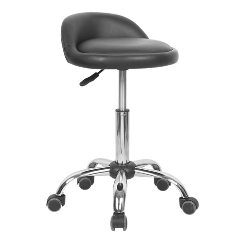 Swivel Adjustable Height Bar Stool (Black)