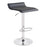 Miranda Swivel Adjustable Height Bar Stool (Black)