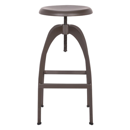 Preston Metal Swivel Adjustable Bar Stool