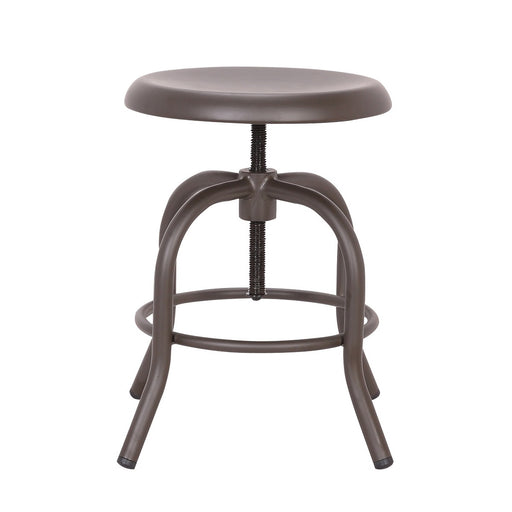 Koa Metal Swivel Adjustable Counter Stool