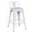 "Trent Metal Counter Stool 24"" (White)"