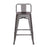 "Trent Metal Counter Stool 24"" (Gun Metal)"