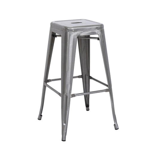 "Nixxon Metal Bar Stool 30"" (Raw Metal)"