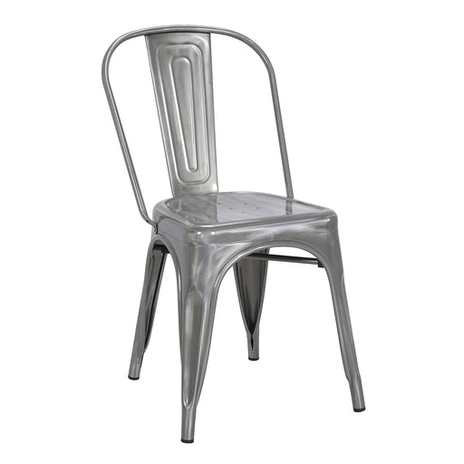 Colin Metal Chair (Natural Metal) 18""