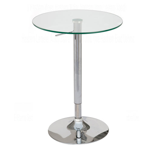 Duran Adjustable Height Pub Table (Glass)