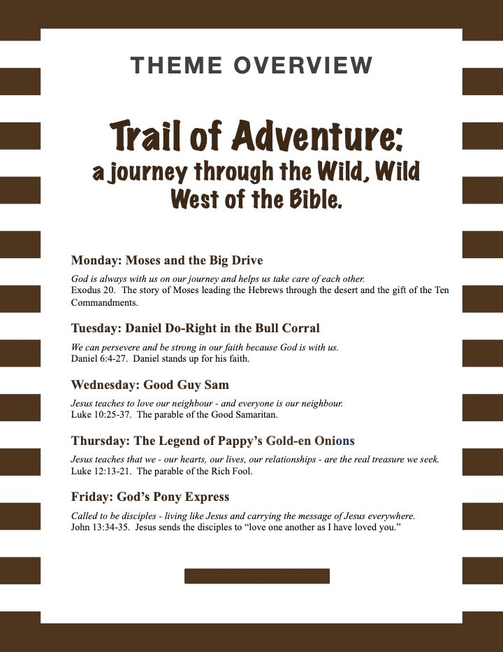 Trail of Adventure