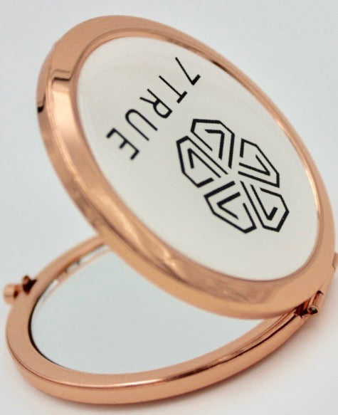 7TRUE™ Compact Mirror Rose Gold