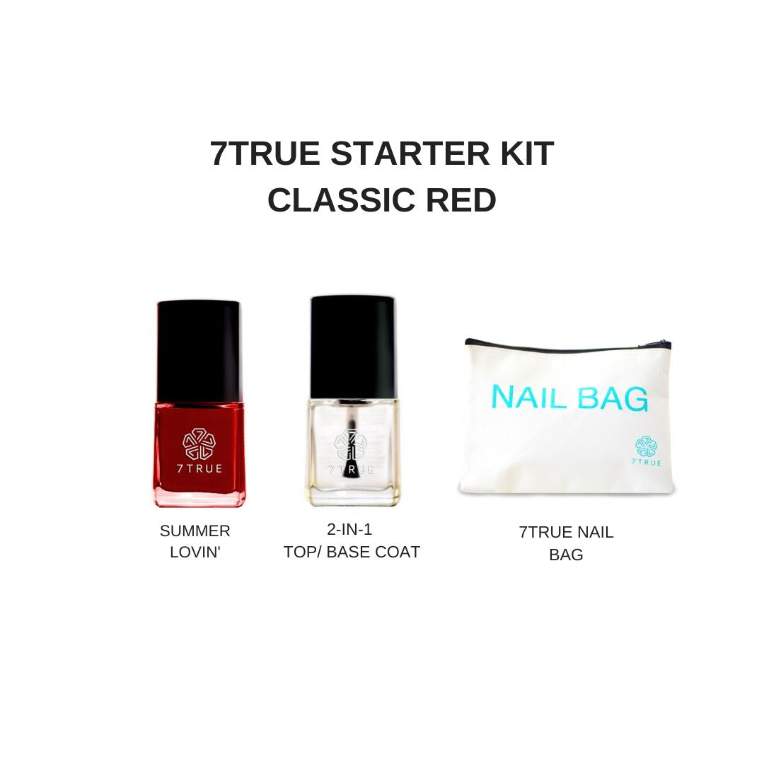 7TRUE Starter Kit Classic Red