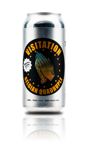 Visitation - 10.5% Belgian Quadrupel Can 440mL - North End Brewery Co.