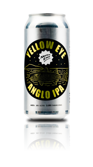 Yellow Eye - 6% English IPA Can 440mL - North End Brewery Co.