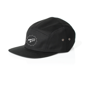 NORTH END STAR EMBROIDERY HAT - 5PANEL - BLK