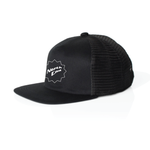 Load image into Gallery viewer, NORTH END SHUCKA PRINTED HAT - TRUCKER - BLK