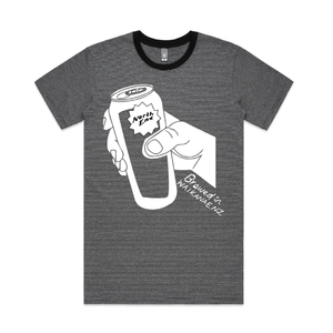 Cheers' Printed Tee - Striped - North End Brewery Co.