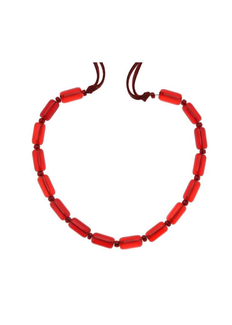Red Muranos Necklace
