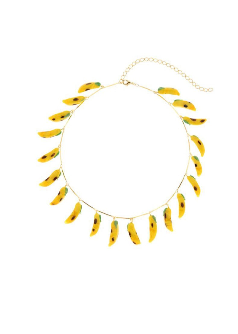Bananas Necklace