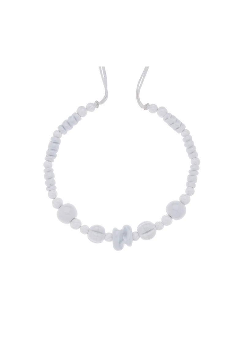 White Muranos Necklace