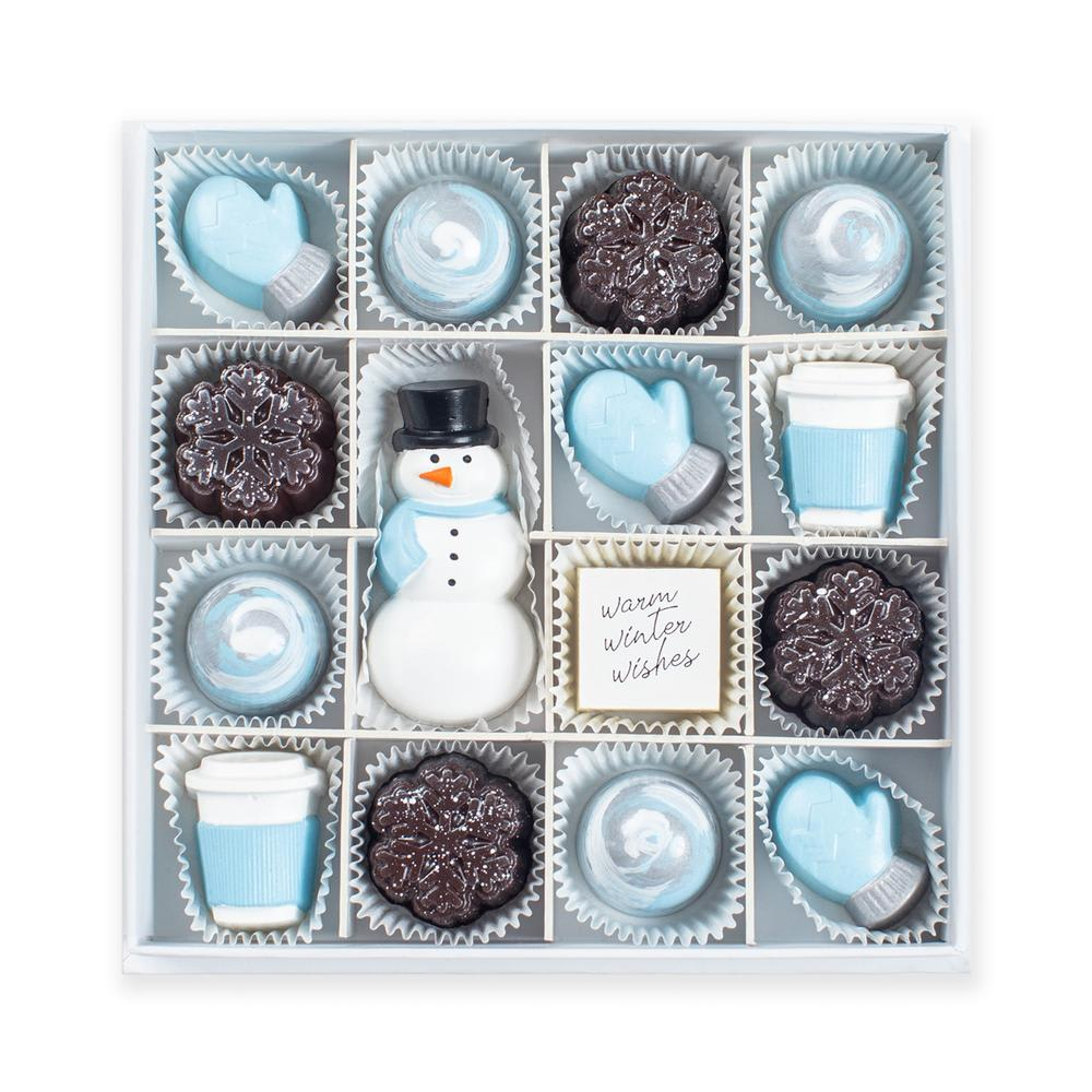 Blizzard Bliss Chocolates (Bof of 9)