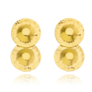 18k Gold Plated Plates Earrings