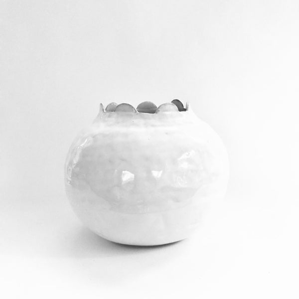 7 Scalloped Vessel