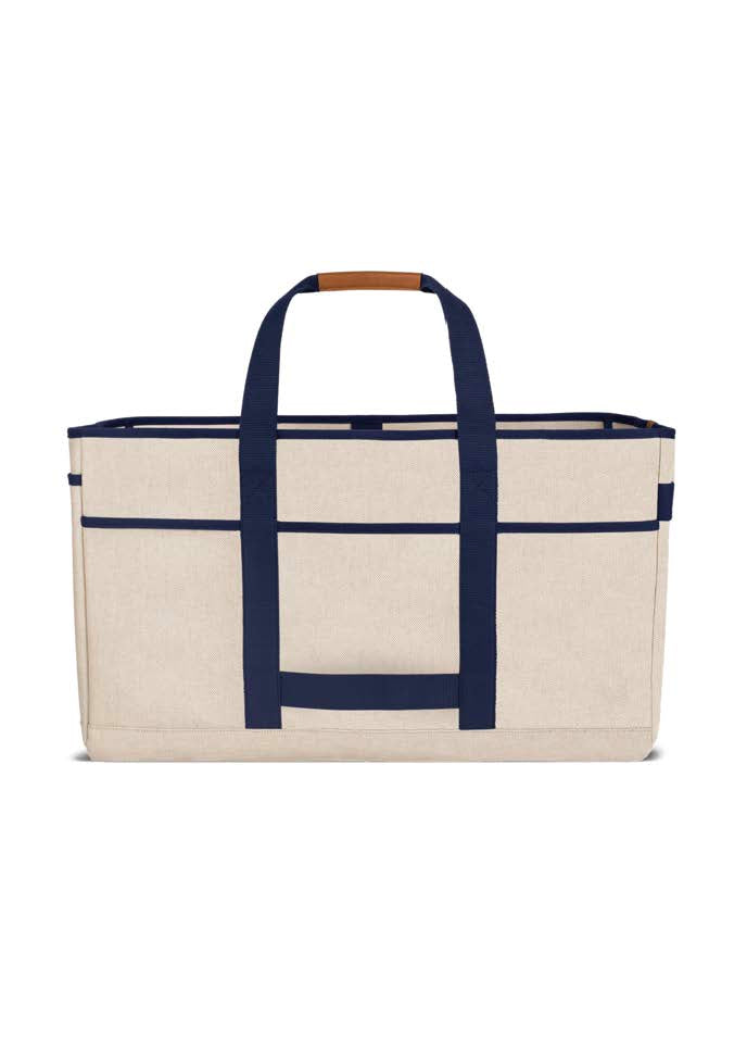Big Bag No.54 - Natural & Navy Canvas