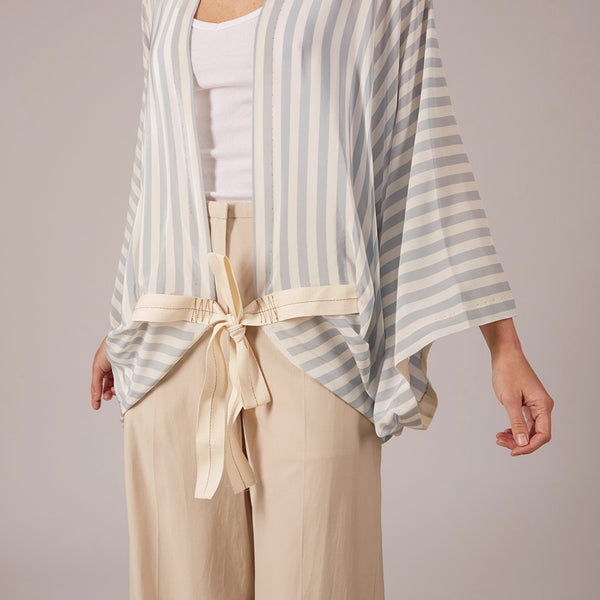 The Breeze Robe - Amagansett Blue