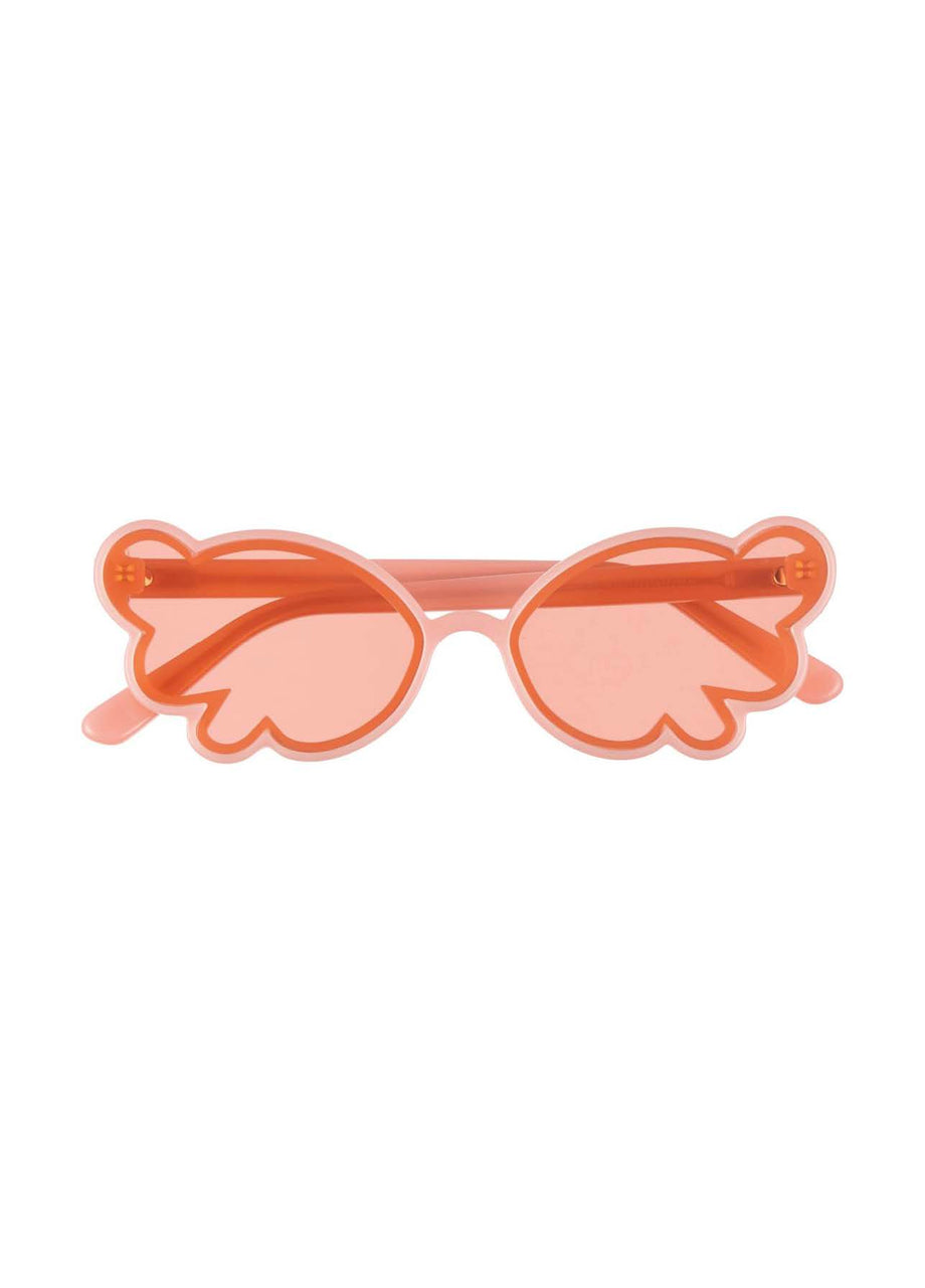 Butterfly Wing Sunglasses Blush