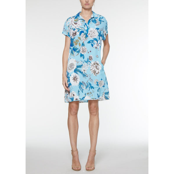 Bridget Shirt Dress - Lilac Rain