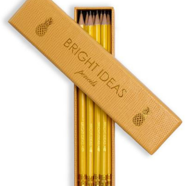 BRIGHT IDEAS Pencil Set - Set of 10 - yellow