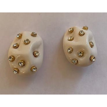 Luce Earrings - Off White