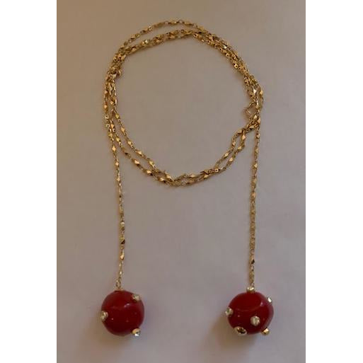 Red Flash Necklace