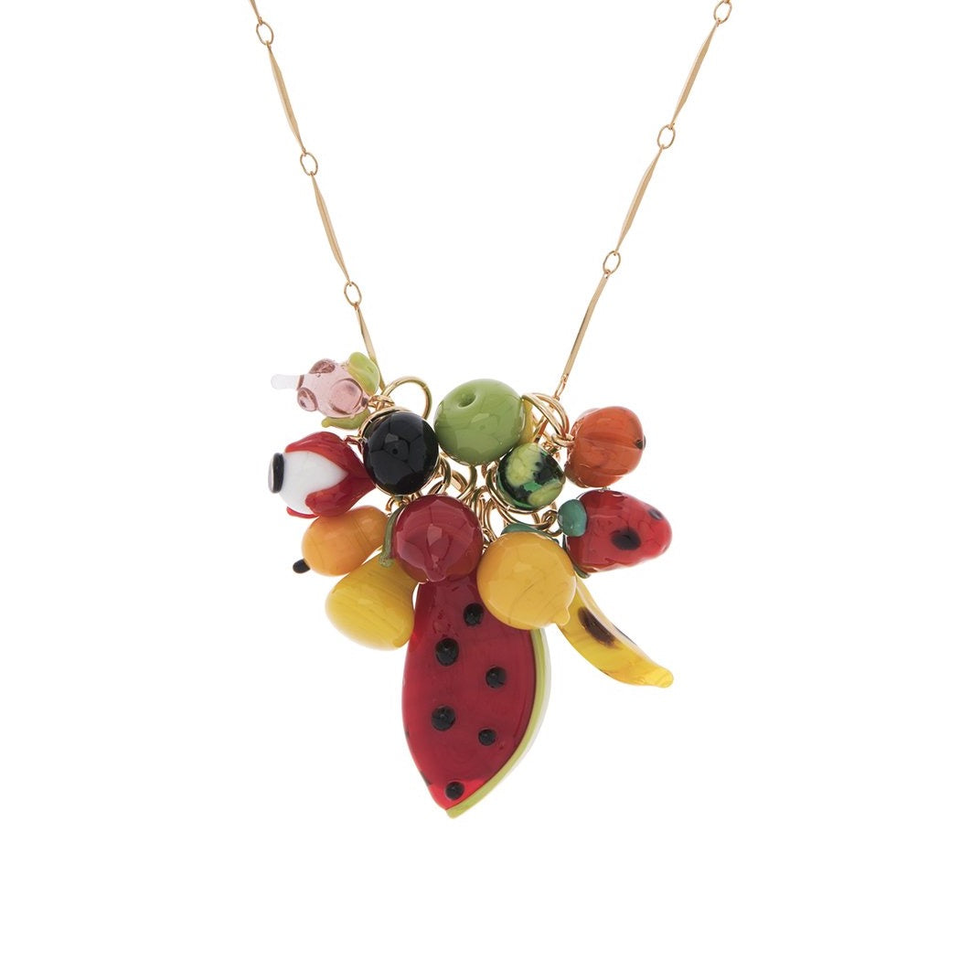 Long Mix Colorful Necklace