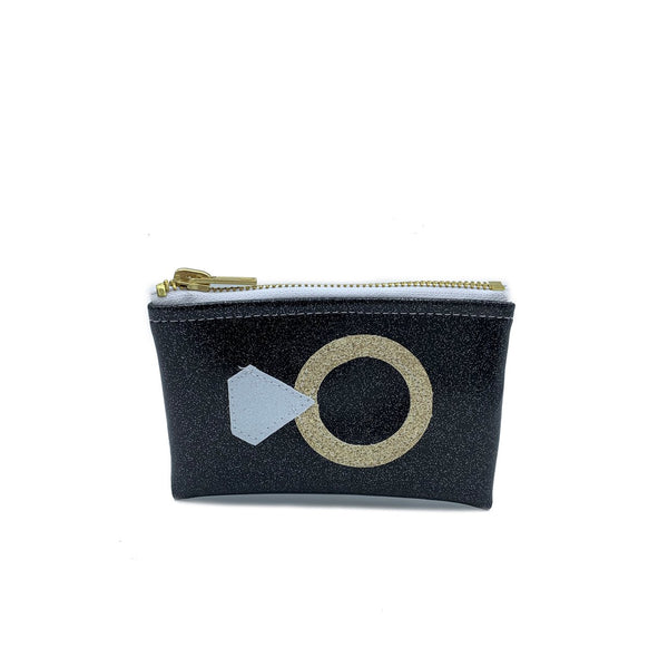 Diamond Ring Mini Pouch