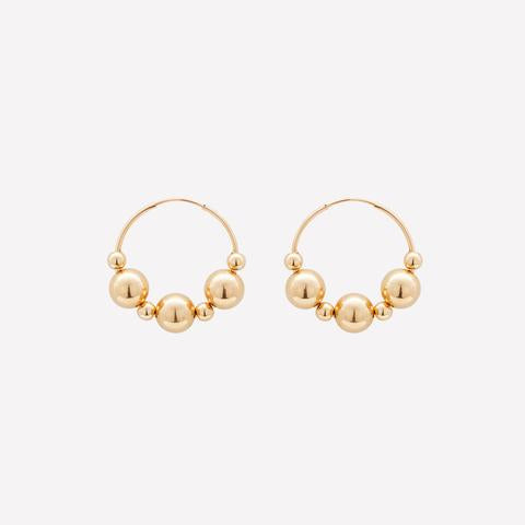 Emillie Hoop Earrings 24mm