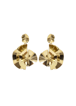 Flora Earrings - Yellow Gold