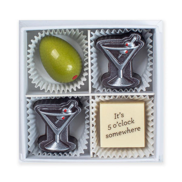 Happy Hour Chocolates (Box of 4)