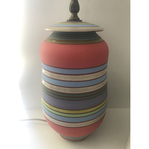 Rosa Striped Lamp Multi