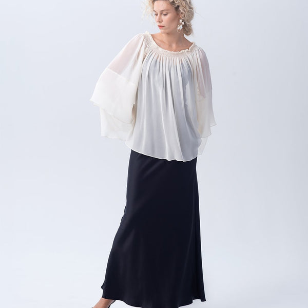 Cascade Blouse - Ivory