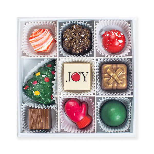 Joyous Season Chocolates (Box of 9)