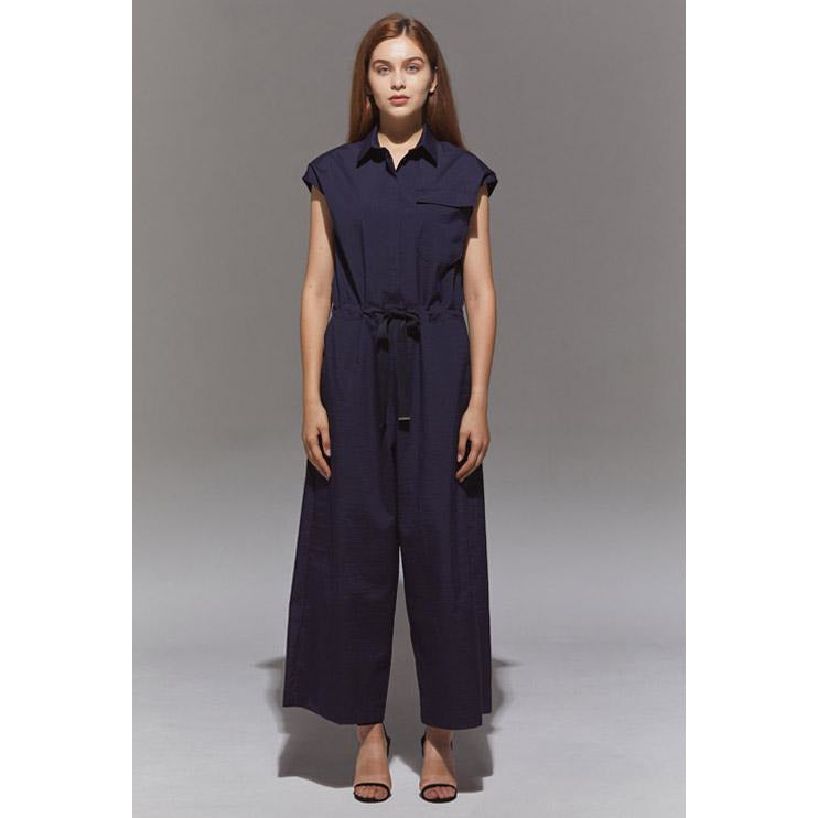 Relaxed Jumpsuit Navy