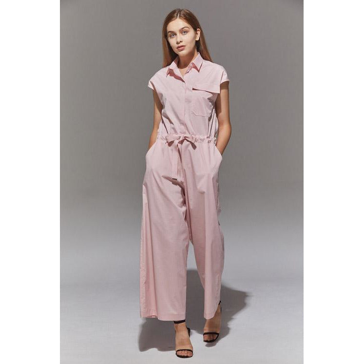 Relaxed Jumpsuit in Pink